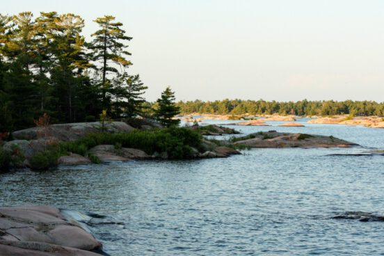 Camping in Georgian Bay. Photo by David Johnston
