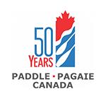 Paddle Canada 50th Logo